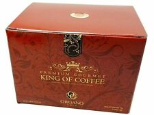 3 BOXES ORGANO GOLD PREMIUM GOURMET KING OF COFFEE EXP 12/2020 FREE SHIPPING