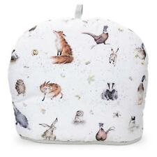 Pimpernel Wrendale Country Set Tea Cosy Cozy Teapot Warmer Animal Owl Badger