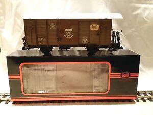 Spur G - Train, gedeckter Güterwagen, neuwertig, modifiziert, mit Kaufvarianten!