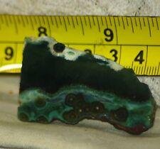Madagascar Ocean Jasper 1 oz Lapidary face cut Slab   28 gram
