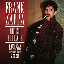 FRANK ZAPPA New 2018 UNRELEASED 1980 ROTTERDAM  & MORE LIVE CONCERT 2 CD SET
