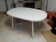 Gartentisch, oval, gut erhalten, klappbar