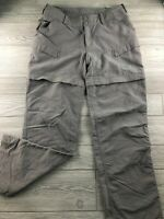 The North Face Womens Lightweight Hiking Convertible Pants Gray Size 8
