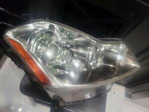 2006 2007 2008 2009 2010 Infiniti M45 M35 Chrome Headlight Xenon Passenger side