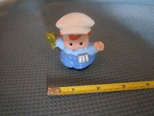 Fisher Price Little People Ice Cream Truck driver key money changer city town