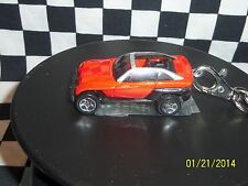 Hot Wheels: Custom Key Chain, RED/BLACK Jeep Jeepster 1:64