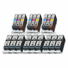 18+ PACK PGI-220 CLI-221 Ink Tank for Canon Printer Pixma iP3600 iP4600 NEW