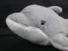 BIG WILD REPUBLIC GRAY AQUATIC DOLPHIN MAMMAL OCEAN REEF PLUSH STUFFED ANIMAL