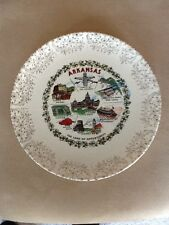 Arkansas State Souvenir Plate, The Land of Opportunity
