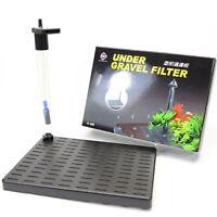 Under Gravel Filter 14x19.9cm Undergravel Filteration for Fish Tank Air Pump