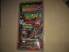 McFARLANE TOYS SPAWN COMIC BOOK and HOT WHEELS DIE CAST FUNNY CAR, RARE!