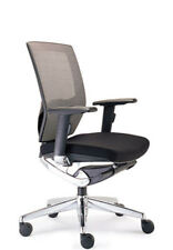 YS Design 0207MBLK Vegas Medium Mesh Back Office Chair with Arms