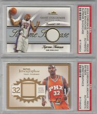 (2) Amare Stoudemire Fleer & Skybox Corporate Archive TEST PROOF Jersey PSA