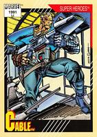 CABLE / Marvel Universe Series 2 (Impel 1991) BASE Trading Card #15