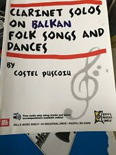 Clarinet Solos On Balkan Folk Songs And Dances