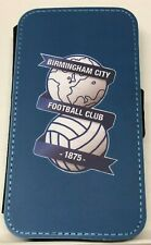 Birmingham City Leather Flip iPhone 4 5 6s 6+ 7 7plus 8 8+ X XS 11 Pro Max Case