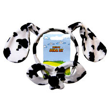 Animal Headband & Mask Set - Dalmatian Headwear Fancy Dress Party Accessories