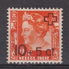 Nederlands Indie Indonesie 373 MLH Netherlands Indies 1947 Rode Kruis VERY FINE