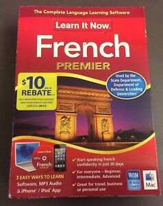Learn It Now French Premier Software Speak French In 30 Days Win Mac 3 Learning