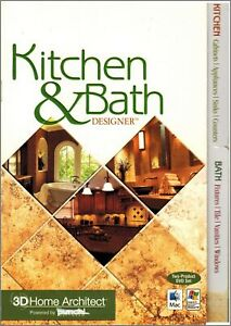 Punch! 3D Home Architect Kitchen & Bath Designer Windows XP Vista 7 8 10 Sealed