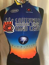 Pactimo Cycling Bike Jersey SOUTHWEST SHOULDER ELBOW HAND Sleeveless Women XS