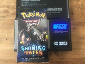 Pokémon Booster - Shining Fates**Heavy Booster * 22,91 gr.*ENG* NEU & OVP*Sealed