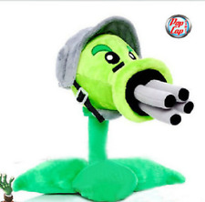 12inch Plants VS Zombies Gatling Pea Peashooter Plush Stuffed Toy Dolls