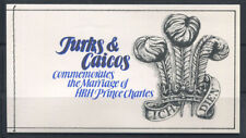 Turks and Caicos 1981 Mi. MiNr. 546-548 Booklet 100% MNH Royal Wedding