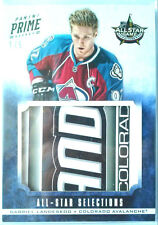 1/5 GABRIEL LANDESKOG PRIME STICK ALL STAR SELECTIONS 2012 PANINI jersey patch