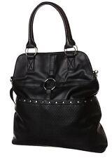 VOLCOM New TAYLOR Womens Ladies Shoulder Hand Bag Large Black Tote Handbag
