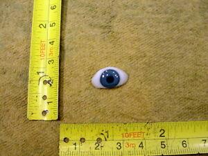excavated vintage human glass eyes antik Lauscha Mueller - Uri German A 4595