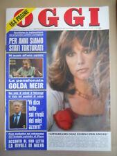 OGGI n°20 1974 Stefania Sandrelli Francoise Fabian Robert Shaw  [G775]