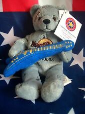 HRC Hard Rock Cafe Foxwoods Rocker Bear Guitar Beara Bär Teddy Herrington
