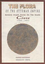 Kreta / Crete. Revenue stamps 1830 - 1897. The Flora of the Ottoman Empire.
