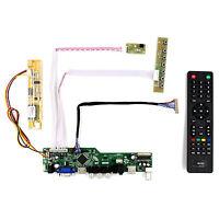 "TV HDMI VGA AV USB AUDIO LCD Driver Board For 14.1"" 15"" QD141X1LH02 1024x768 LCD"