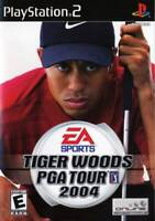 Tiger Woods 2004 PS2 Playstation 2 Game Complete
