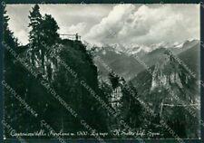 Bergamo Colere Cantoniera della Presolana Foto FG cartolina KV7401