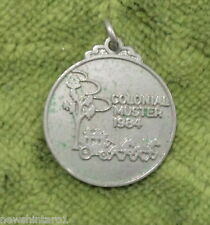 #D257.  1984  COLONIAL  MUSTER MEDAL - STAGECOACH