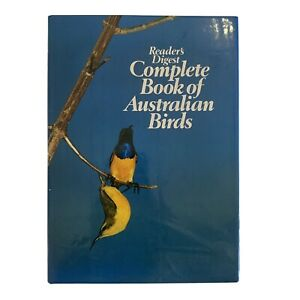 Complete Book of Australian Birds by Reader's Digest Hardcover Book 1993
