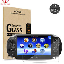 PS Vita 1000 Screen Protector 9H Tempered Glass 2 Pack Premium Clear Protective