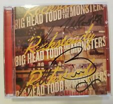 Big Head Todd And The Monsters CD 'Rocksteady' With Band Signed Cover