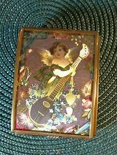 ANGEL TRINKET MUSIC BOX  Angel Playing Lute
