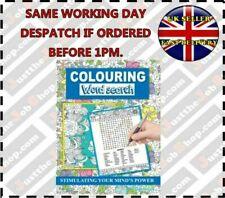 Martello A4 Colouring Word Search Book