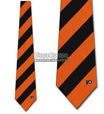 Flyers Ties Philadelphia Flyers Neckties Mens Licensed Hockey Neck Tie NWT