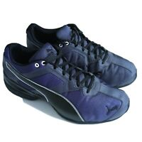 PUMA Men's Tazon 6 Fracture FM Sneakers, Deep Purple/Black Low Shoes Top Sz 10.5