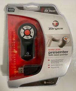 Targus Wireless Presenter with Laser Pointer Remote New - AMP03US