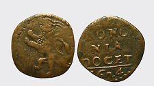 BOLOGNA - URBANO VIII 1623-1644 -AE/ QUATTRINO 1624  RARA !