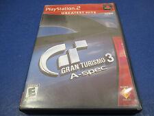 PlayStation 2, Gran Turismo 3, A -spec, Rated E , Greatest Hits Acura Alfa Romeo