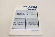 Suzuki SA 310 / 413 Betriebsanleitung Bedienungsanleitung Anleitung 84'