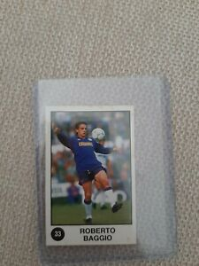 Roberto Baggio Fiorentina Italia Figurine Panini Supersport 1988